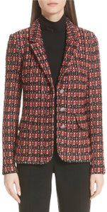 St. John Tweed Longsleeve Silk black multi Blazer