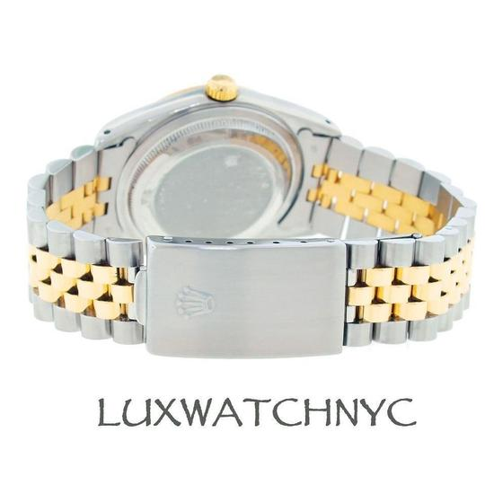 Rolex 36MM LADIES DATEJUST GOLD AND STAINLESS STEEL WITH APPRAISAL Image 6