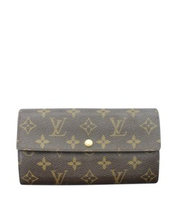 Louis Vuitton Louis Vuitton Monogram Snap Wallet (152550)