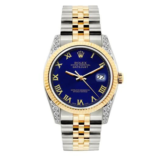 Preload https://img-static.tradesy.com/item/23690945/rolex-blue-36mm-datejust-2tone-with-box-and-appraisal-watch-0-0-540-540.jpg