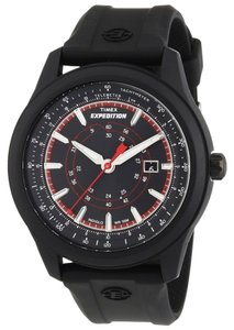 Timex Timex Male Expedition Watch T49920 Black Analog