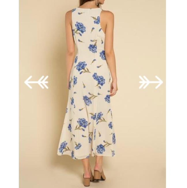 creme Maxi Dress by Privacy Please Image 1