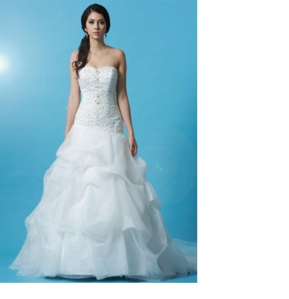 Eden White Gl031 Traditional Wedding Dress Size 16 (XL, Plus 0x ...
