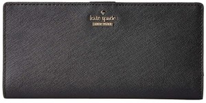 Kate Spade kate spade Cameron Street Stacy Large Black Leather Wallet