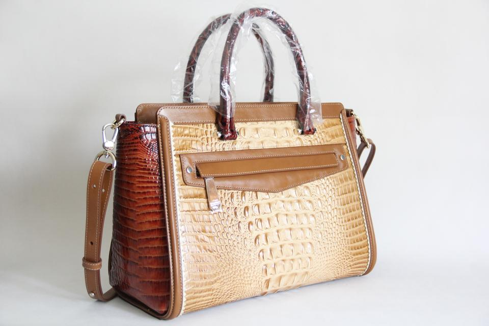 Medina Satchel Chino Leather Harper Tote Brahmin 0RqOZwx