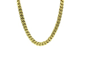 Other Yellow Gold 10K Miami Cuban Chain