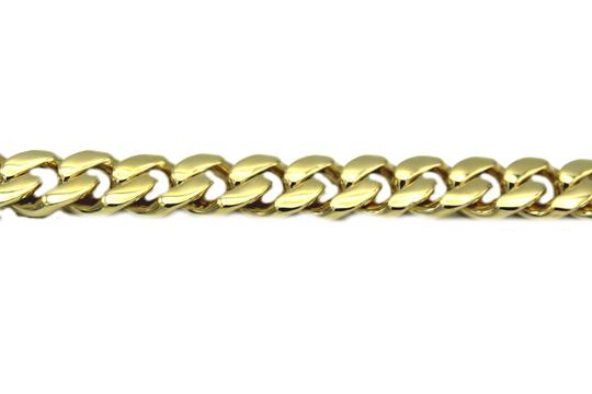 Other Yellow Gold 10K Miami Cuban Chain Image 1