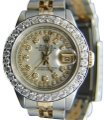 Rolex 26mm Ladies Datejust Gold Stainless Steel with Appraisal Image 0