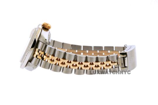 Rolex 26mm Ladies Datejust Gold Stainless Steel with Appraisal Image 2