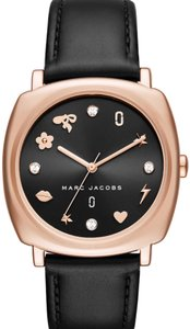 Marc Jacobs Marc Jacobs rose gold and black mandy watch