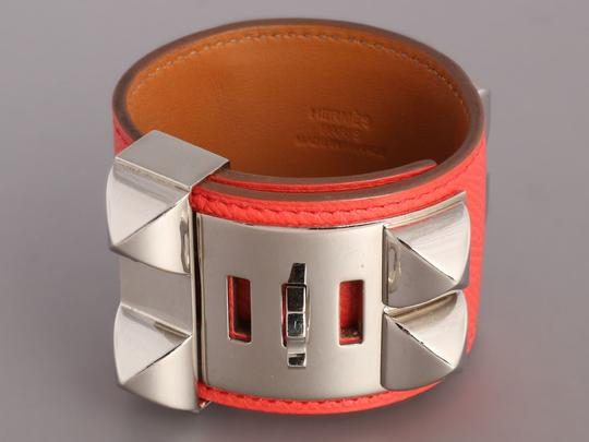 Hermès Pink Epsom Leather Collier de Chien CDC Bracelet Image 3