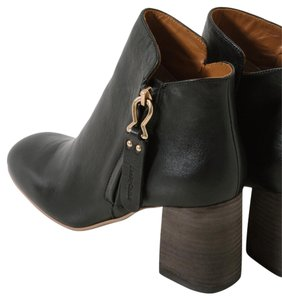 See by Chloé Chunky Black Boots