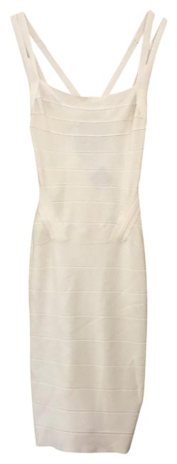 Item - Off White Mid-length Night Out Dress Size 0 (XS)