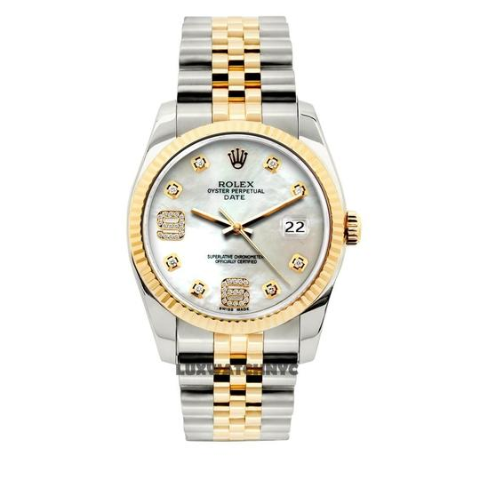 Preload https://img-static.tradesy.com/item/23691727/rolex-white-mop-34mm-gold-stainless-steel-with-box-and-appraisal-watch-0-0-540-540.jpg
