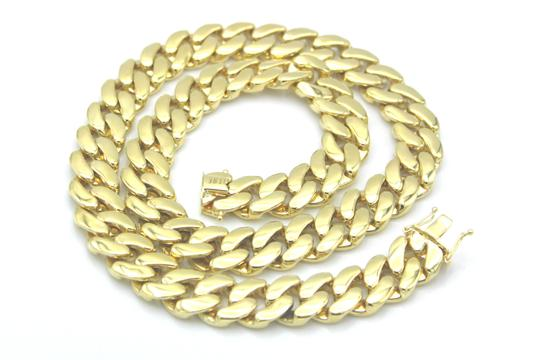 Other 10KT. Miami Cuban Link 15 MM Box Lock Necklace Image 3