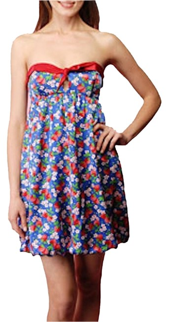 Betsey Johnson Strawberry Summer Dress