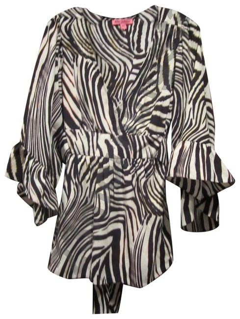 Preload https://img-static.tradesy.com/item/23691948/betsey-johnson-multi-color-brown-zebra-empire-waist-baby-style-no-ff03w14b-blouse-size-12-l-0-1-650-650.jpg