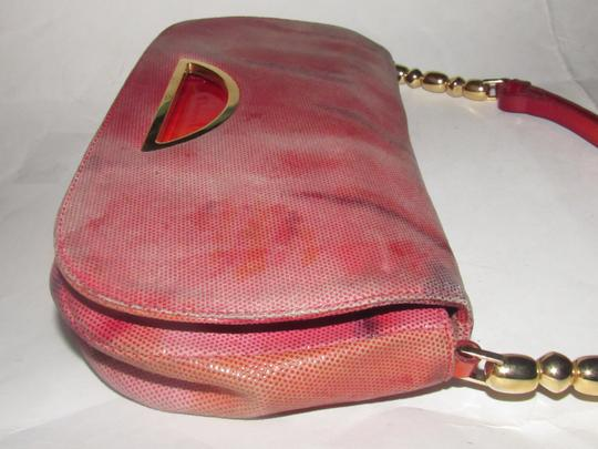 Dior Baguette/Shoulder Gold Accents Galliano Style Dressy Or Casual Shoulder Bag Image 11