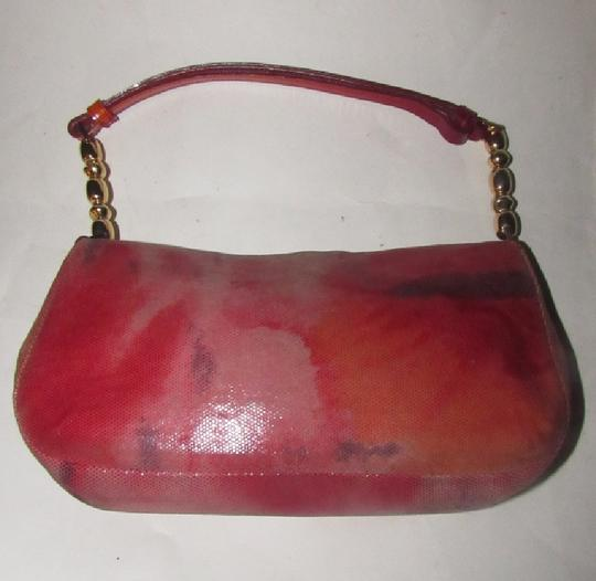 Dior Baguette/Shoulder Gold Accents Galliano Style Dressy Or Casual Shoulder Bag Image 4