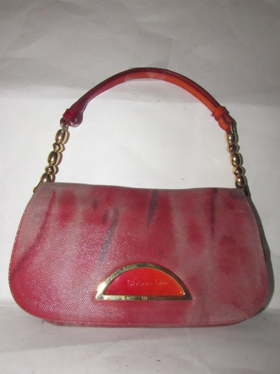Dior Baguette/Shoulder Gold Accents Galliano Style Dressy Or Casual Shoulder Bag Image 6