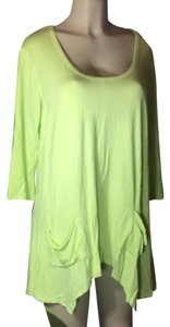 Grace Elements Top lime green