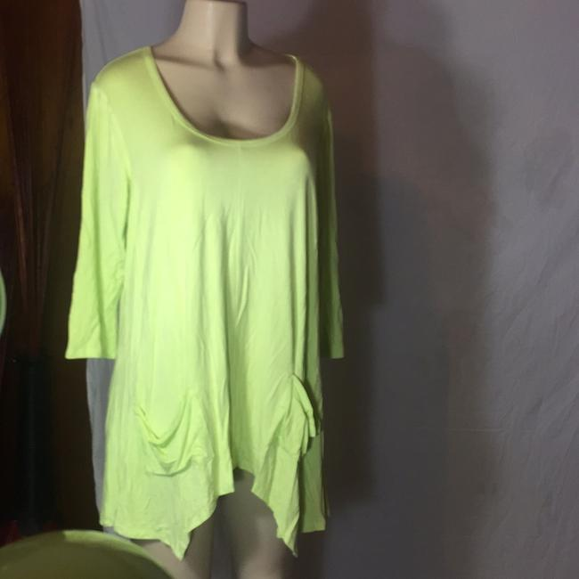 Grace Elements Top lime green Image 1