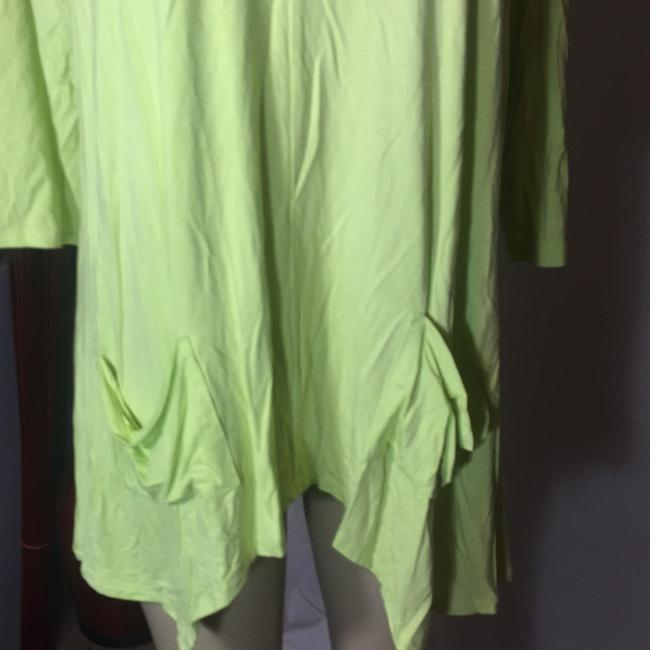 Grace Elements Top lime green Image 2