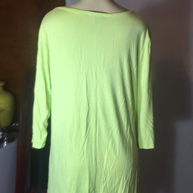 Grace Elements Top lime green Image 4