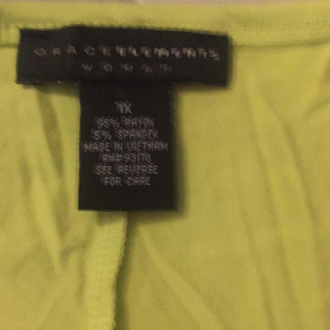 Grace Elements Top lime green Image 6
