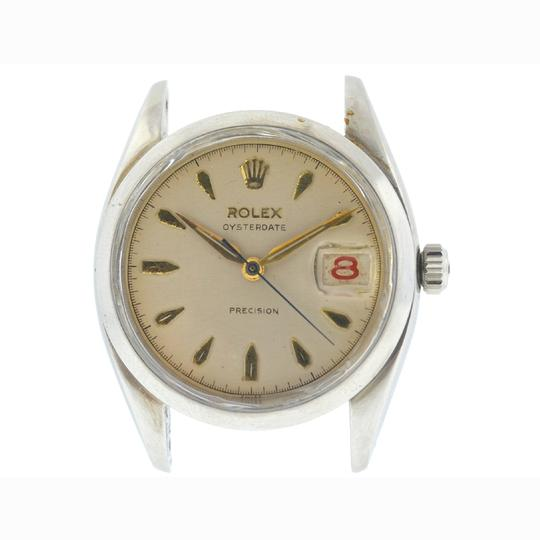 Preload https://img-static.tradesy.com/item/23692095/rolex-stainless-steel-6494-vintage-oysterdate-precision-circa-1946-head-only-watch-0-0-540-540.jpg