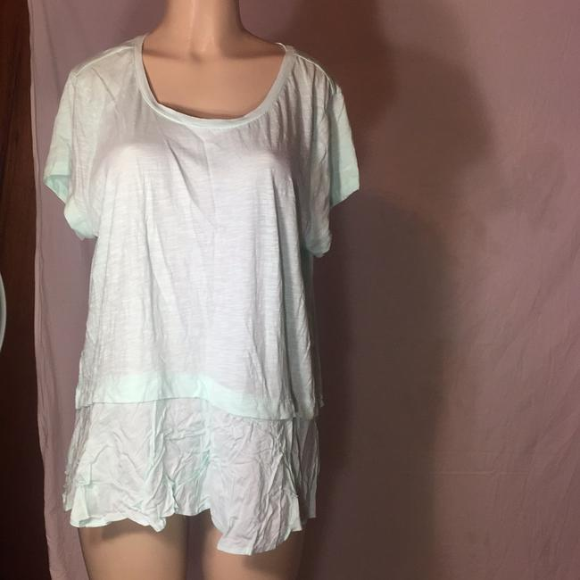 Style & Co Top mint green Image 1