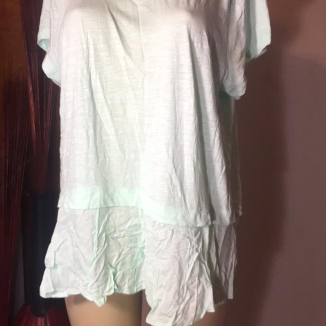 Style & Co Top mint green Image 2