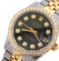 Rolex 31mm MIDSIZE Datejust Gold Stainless Steel with Appraisal Image 1