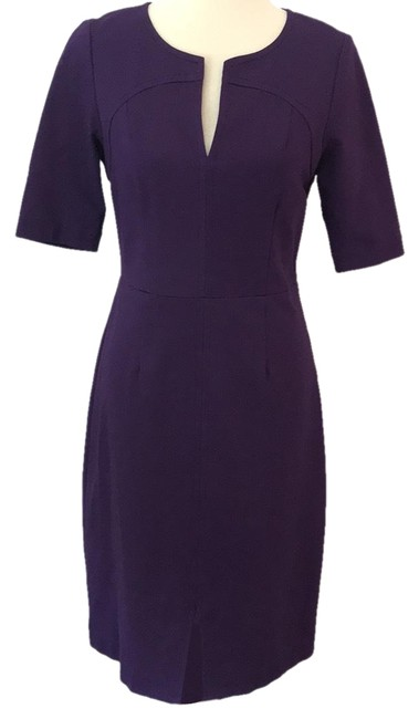 Preload https://img-static.tradesy.com/item/23692222/trina-turk-plum-knit-short-workoffice-dress-size-8-m-0-1-650-650.jpg
