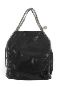 Stella McCartney Leather Chains Shoulder Bag