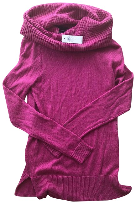 Preload https://img-static.tradesy.com/item/23692259/ann-taylor-pink-cowl-neck-longsleeve-sweaterpullover-size-4-s-0-1-650-650.jpg