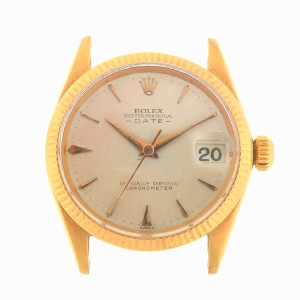 Rolex Rolex 6627 Vintage 18k Gold Date Automatic Head Only Circa 1950