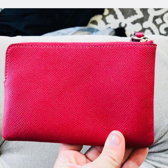 Coach Wristlet in Red Image 3