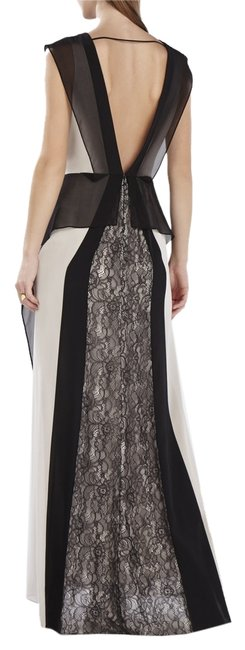 Preload https://item2.tradesy.com/images/bcbgmaxazria-light-stone-and-black-jenelle-color-blocked-lace-contrast-gown-long-formal-dress-size-2-2369236-0-0.jpg?width=400&height=650
