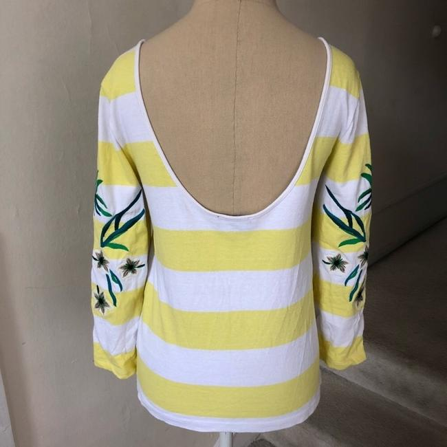 Juicy Couture T Shirt yellow and white Image 3