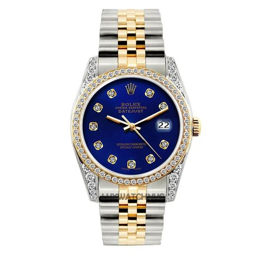 Preload https://img-static.tradesy.com/item/23692379/rolex-blue-2ct-36mm-datejust-gold-stainless-with-box-and-appraisal-watch-0-0-540-540.jpg