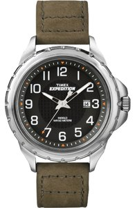 Timex Timex Male Expedition Watch T49945 Silver Analog
