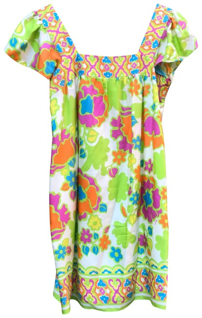 Preload https://img-static.tradesy.com/item/23692398/milly-multicolor-floral-paradise-short-casual-dress-size-2-xs-0-1-650-650.jpg
