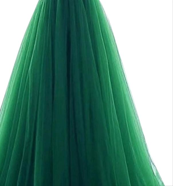Preload https://img-static.tradesy.com/item/23692419/green-a-line-tulle-ball-gown-long-formal-dress-size-2-xs-0-1-650-650.jpg
