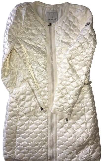 Item - Ivory Women's Spring/Windbreaker Jacket Coat Size 2 (XS)
