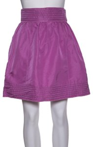 Rochas Mini Skirt Pink