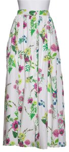 MDS Stripes Maxi Skirt Floral