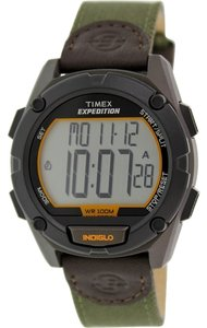Timex Timex Male Expedition Watch T49947 Green Digital