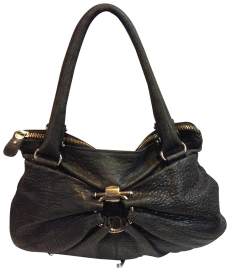 Salvatore Ferragamo Leather Shoulder Bag Image 0