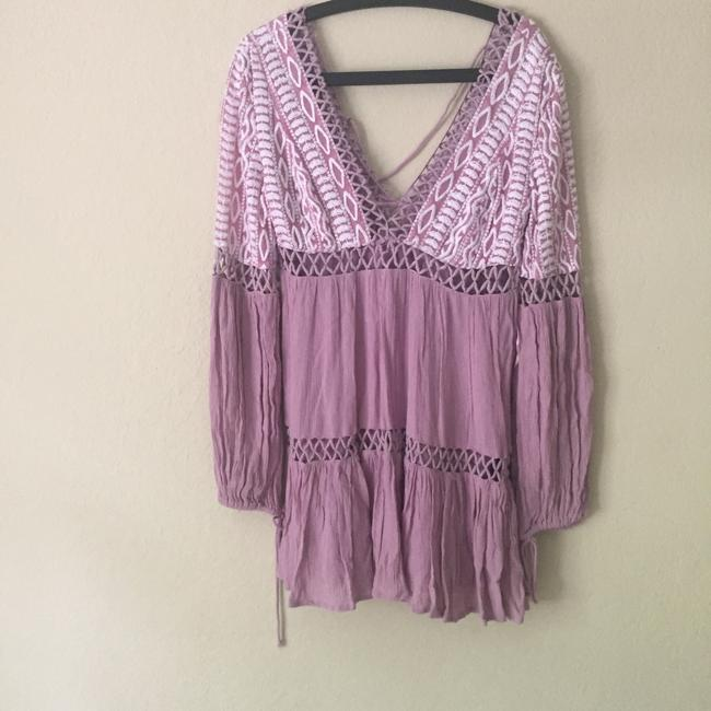 Free People short dress lavendar on Tradesy Image 2
